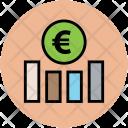 Euro Graph Financial Icon