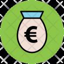 Euro Money Pouch Icon