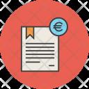 Euro Trade Business Icon