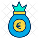 Euro Bag Euro Money Bag Icon