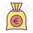Meuro Bag Euro Bag Money Bag Icon