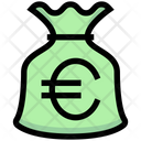 Euro Bag Money Bag Money Sack Icon