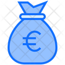 Euro Bag Bag Money Icon