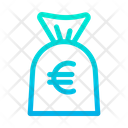 Money Bag Euro Bag Icon