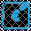 Euro Bill Icon