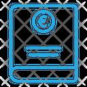 Euro Book Icon
