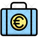 Euro Briefcase Euro Money Icon