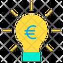 Euro bulb Icon