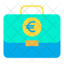 Euro Business Business Portfolio Icon