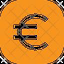 Euro Button Square Euro Currency Icon