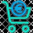 Euro Cart Icon