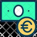 Euro Cash Euro Cash Icon