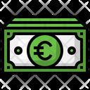 Euro Cash Cash Euro Icon