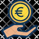 Euro Charity Icon