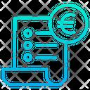 Euro Checkout Icon