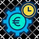 Dollar Setting Dollar Earning Management Cogwheel Icon