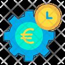 Euro Cogwheel Icon