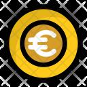 Euro Coin Expenditure Icon