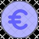 Euro-coin Icon