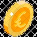 Euro Coin Icon