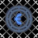 Euro Coin Money Icon