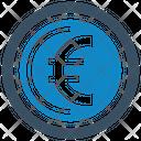 Euro Exchange Rate Finance Icon