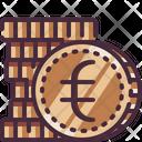 Cash Coin Euro Icon