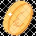 Euro Coin European Coin Euro Currency Icon