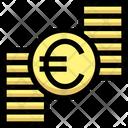 Euro Coins Stack Euro Icon