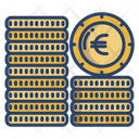 Euro Coins Coin Stack Euro Icon
