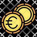 Euro Coins Euro Cash Icon