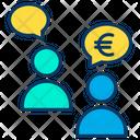Euro Conversation Conversation Euro Icon