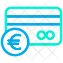 Euro Credit Card Icon