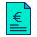 Euro Document Icon