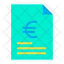 Document Business Document Euro Agreement Icon