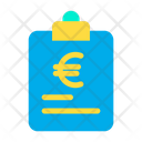 Euro Finance Papers Document Icon