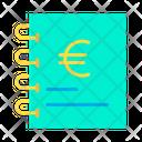 Euro documents Icon