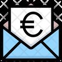 Euro Envelope Euro Letter Icon