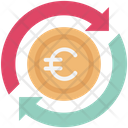 Currency Exchange Euro Euro Valuation Icon