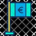 Euro Flag Flag Cash Icon