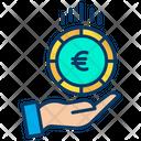 Euro Funding Euro Coin Icon
