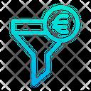 Euro Funnel Icon