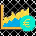 Euro Graph Graph Analysis Icon