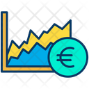 Euro Graph Graph Analysis Icon