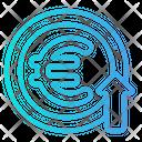 Euro Growth Icon