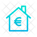 Home House Euro Symbol Icon