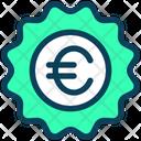 Euro Label Euro Label Icon