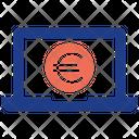 Euro Laptop Seo Service Icon