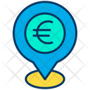 Euro location Icon