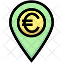 Euro Location Money Location Euro Icon